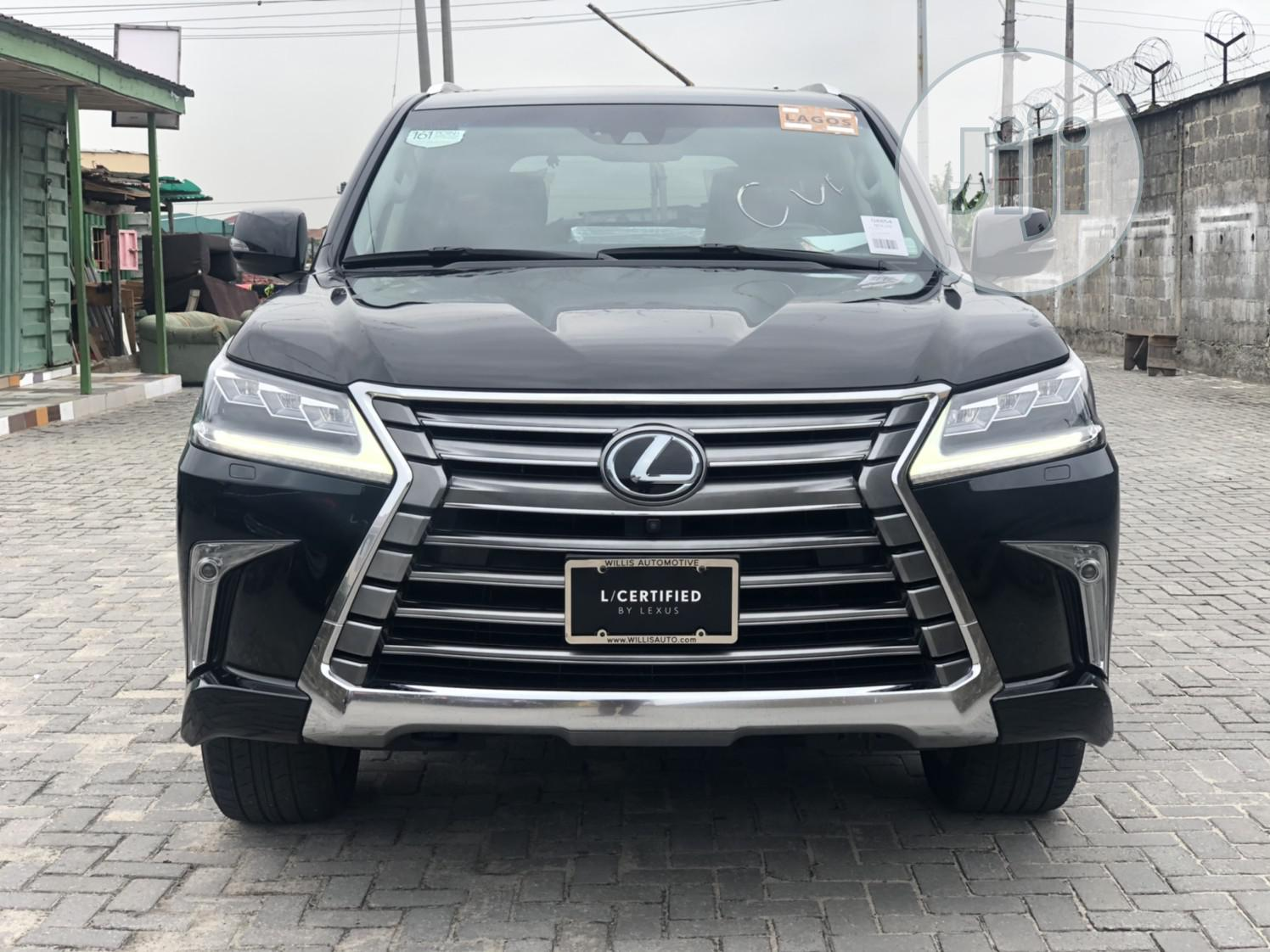Lexus LX 570 2017 Black