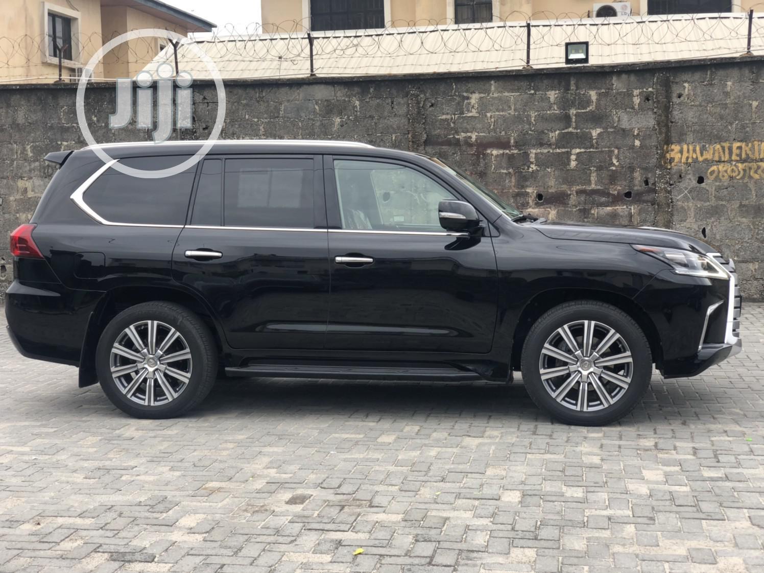 Lexus LX 570 2017 Black | Cars for sale in Lekki, Lagos State, Nigeria