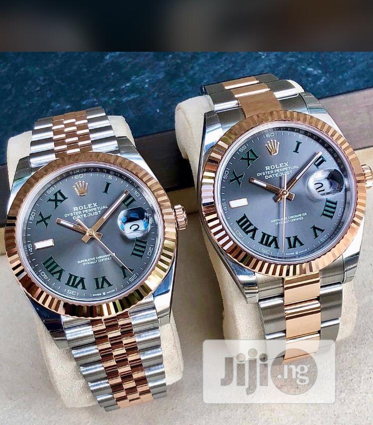 Rolex Fashion Wrist Watch