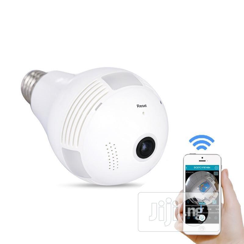 Panorama Wifi Panorama Camera (CCTV Bulb) - 360 Degree