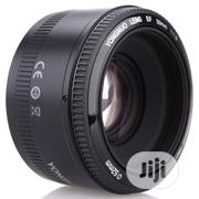 Yongnuo YN EF 50mm F/1.8 AF Lens 1:1.8 Standard Prime Lens Aperture | Accessories & Supplies for Electronics for sale in Lagos State, Ikeja