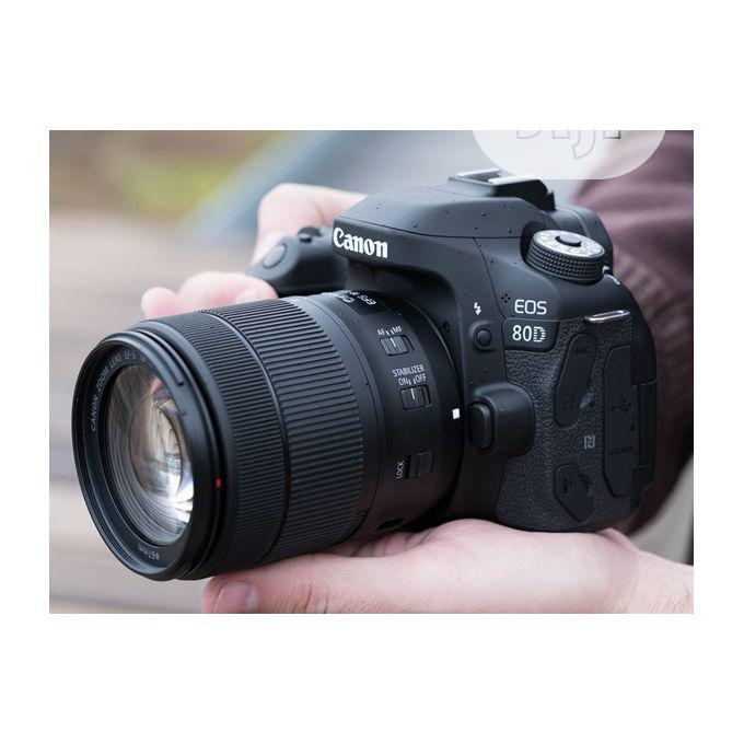 Canon 24mp EOS 80D Digital Camera With 18-135mm Lens