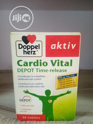 Doppelherz Aktiv Cardio Vital Depot Time Release | Vitamins & Supplements for sale in Abuja (FCT) State, Wuse 2