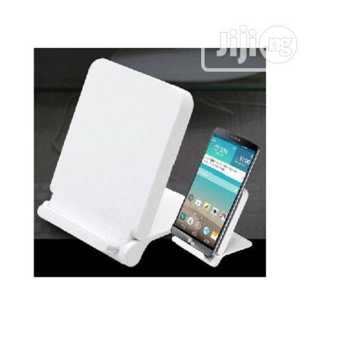 Qi Wireless Charging Stand - White