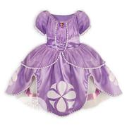 Princess Sofia Dress Costume, Badge And Tiara Crown | Children's Clothing for sale in Lagos State, Amuwo-Odofin