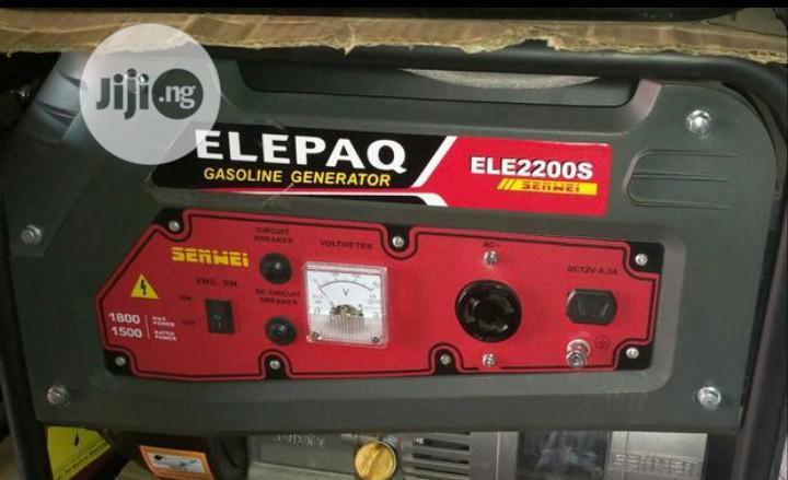 Elepaq Gasoline Generator ELE2200S   Electrical Equipment for sale in Ikeja, Lagos State, Nigeria