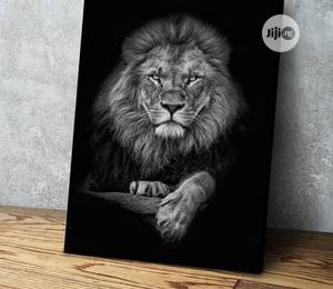 Lion 1pcs Canvas Wall Art | Home Accessories for sale in Lagos State, Agege