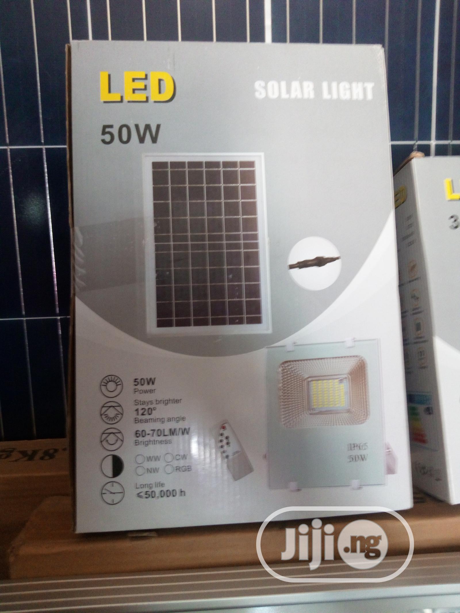 LED 50 Watt Solar Flood Light