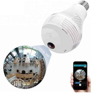 Wireless Wifi Led Bulb Panoramic IP Camera   Security & Surveillance for sale in Lagos State, Ikeja