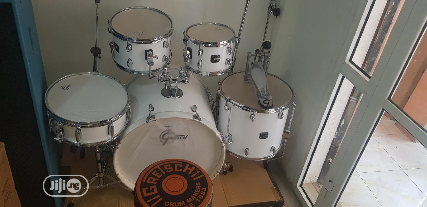White Gretsch (5set) | Musical Instruments & Gear for sale in Ojo, Lagos State, Nigeria