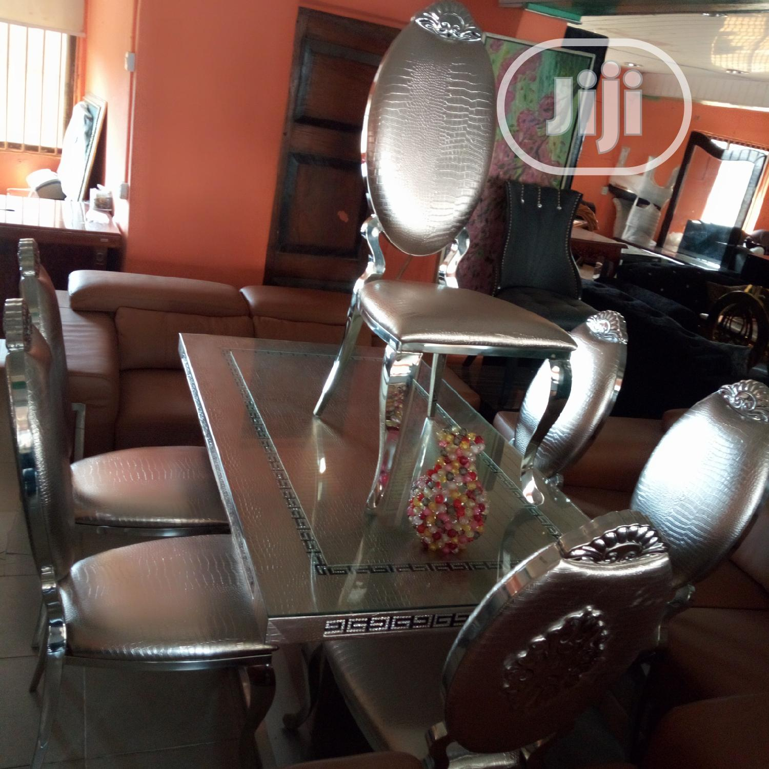 Archive: Brand New Silver Dining Set