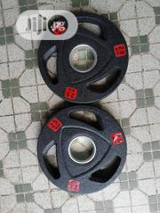 Pair of 2.5kg Olympic Plate | Sports Equipment for sale in Lagos State, Surulere