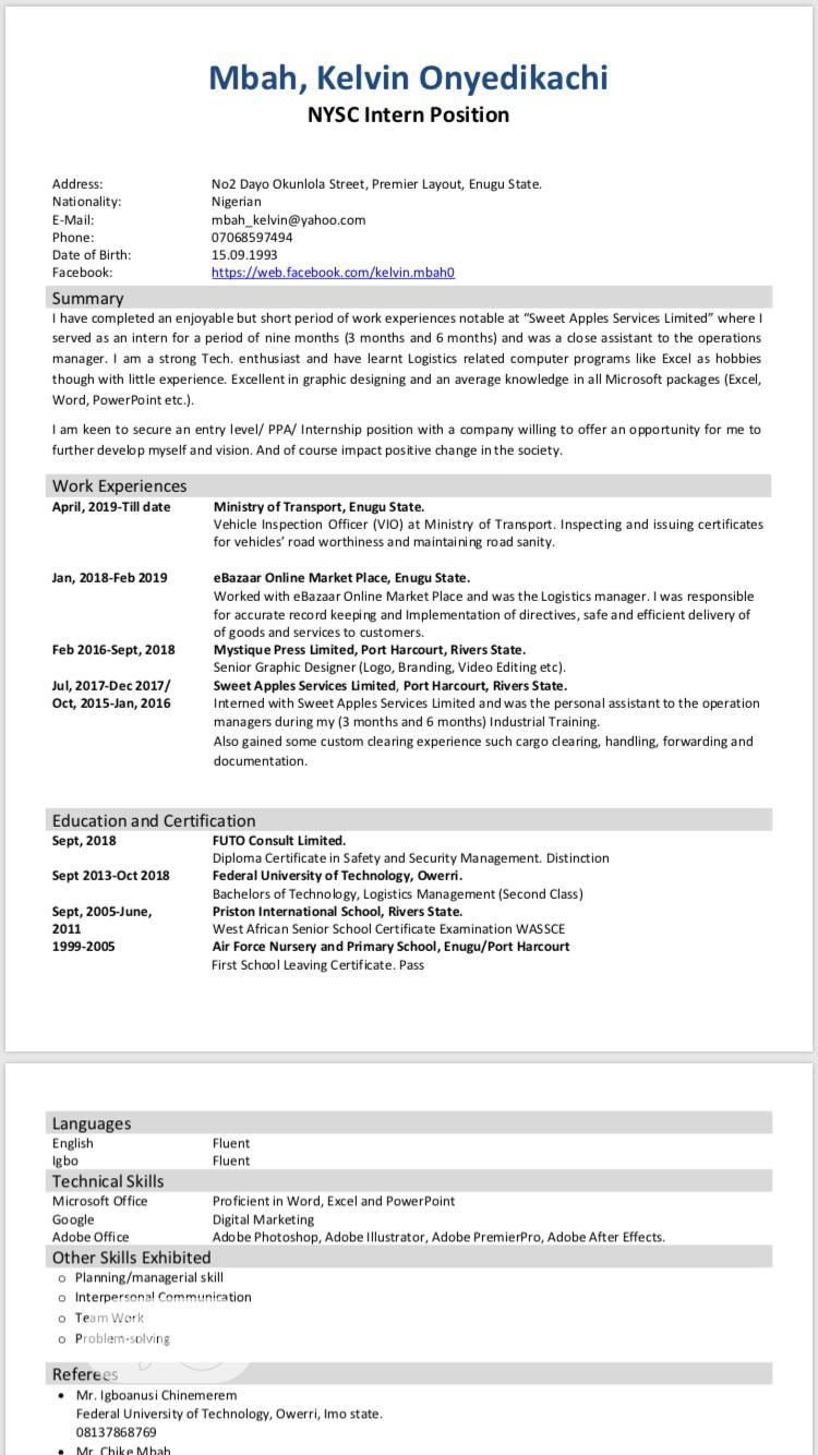 Graphic Designer | Computing & IT CVs for sale in Enugu, Enugu State, Nigeria