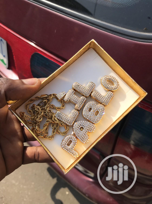 2,500 Per Letter, Bubble Customized Pendants | Jewelry for sale in Lagos Island (Eko), Lagos State, Nigeria