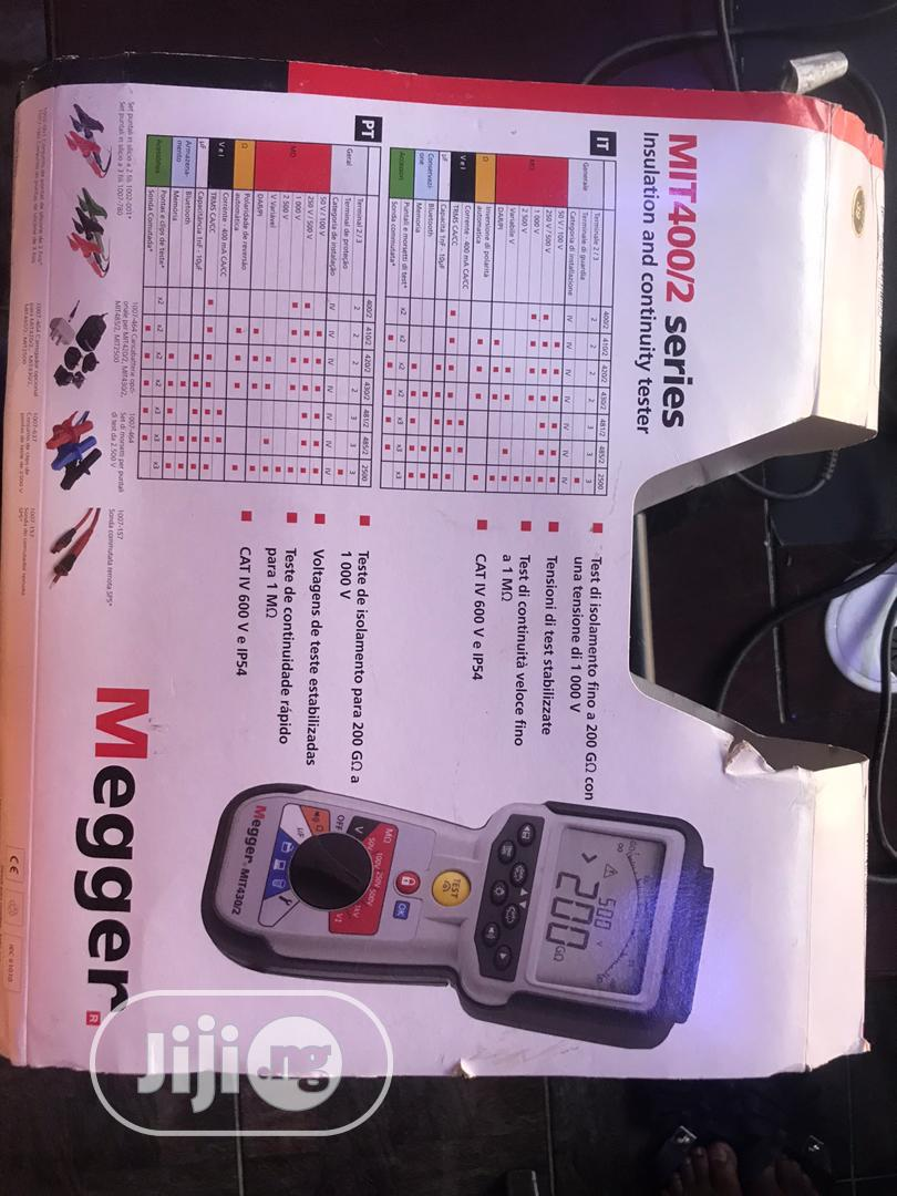 Megger 1000V Insulation Tester | Measuring & Layout Tools for sale in Ojo, Lagos State, Nigeria