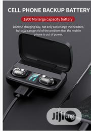 M13c Touch Control 5.0 Sport LED True TWS Headsets With Power Bank | Headphones for sale in Lagos State, Ikeja