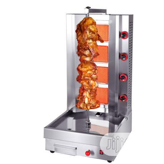 Gas Shawarma Machine 4burner