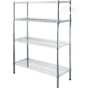 Storage Chrome Wire Shelves 4ft | Restaurant & Catering Equipment for sale in Lagos State, Ojo