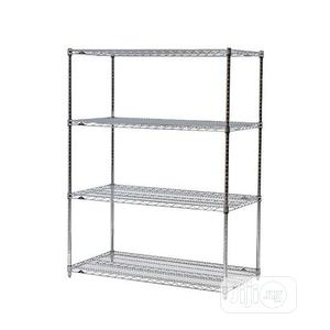 Chrome Wire Storage Rack 4ft | Store Equipment for sale in Lagos State, Ikorodu
