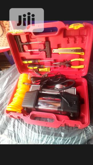 Tyre Pump + Tool Box | Hand Tools for sale in Lagos State, Mushin