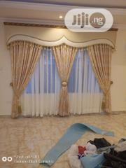 Latest Curtain Design With Italian Frame   Home Accessories for sale in Lagos State, Lagos Island
