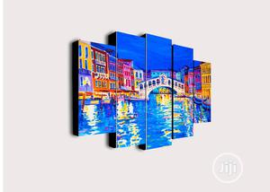 5pcs Bridge Canvas Wall Art | Home Accessories for sale in Lagos State, Agege