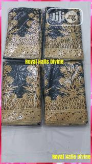 Black And Gold Indian George | Clothing for sale in Lagos State, Ojo