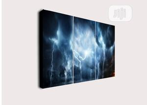 3pcs Storm Canvas Wall Art | Home Accessories for sale in Lagos State, Agege