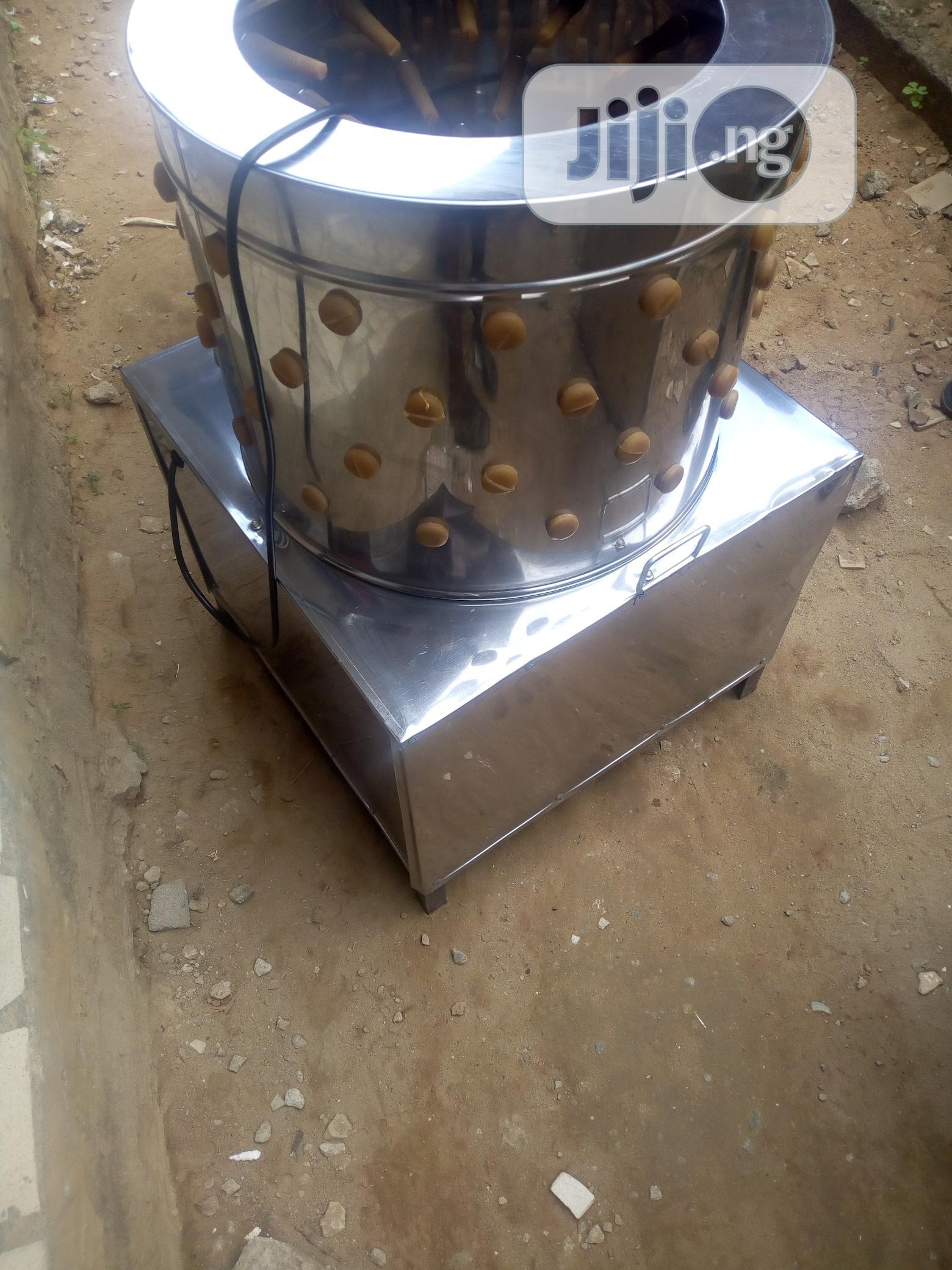 Chicken Pluger Machine