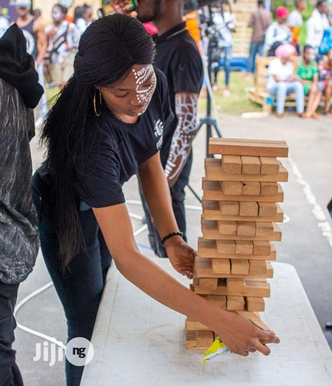 Jenga Game For Rent | Books & Games for sale in Ikoyi, Lagos State, Nigeria