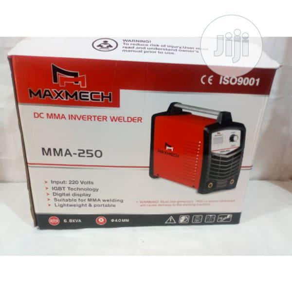 Maxmech Dc MMA Inverter Welding Machine | Electrical Equipment for sale in Lagos Island (Eko), Lagos State, Nigeria