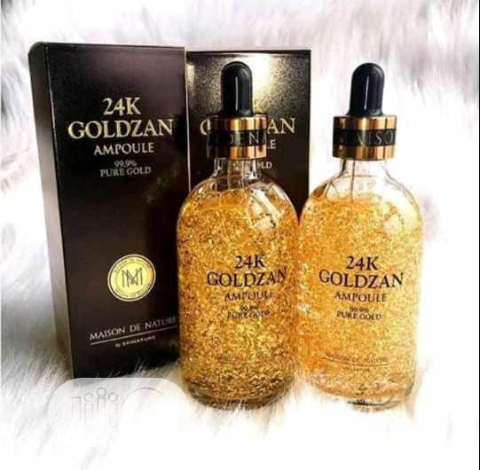 24K Goldzan Ampoules