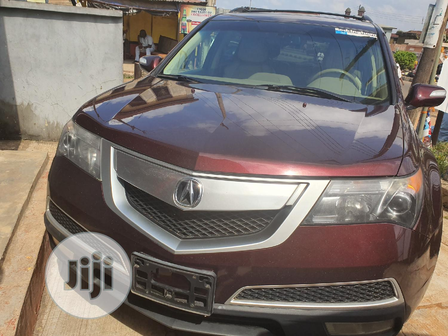 Acura MDX 2012 Red