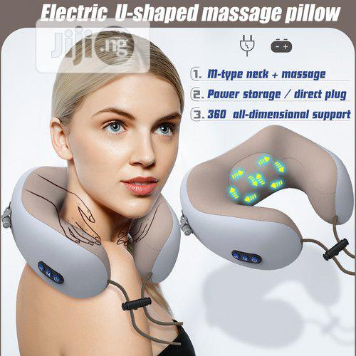 Portable Massage Cushion Pillow- Pink | Massagers for sale in Ikeja, Lagos State, Nigeria