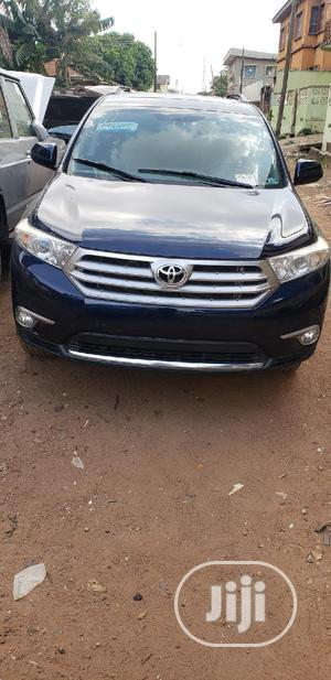 Toyota Highlander 2013 3.5L 4WD Blue   Cars for sale in Oyo State, Ibadan