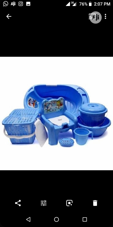 7 in 1 Baby Bathing Bowl Set