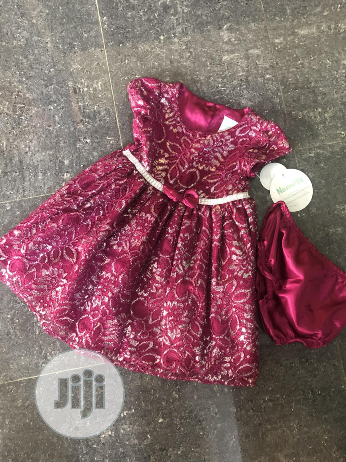 Nannette Baby Dress With Pant   Children's Clothing for sale in Alimosho, Lagos State, Nigeria