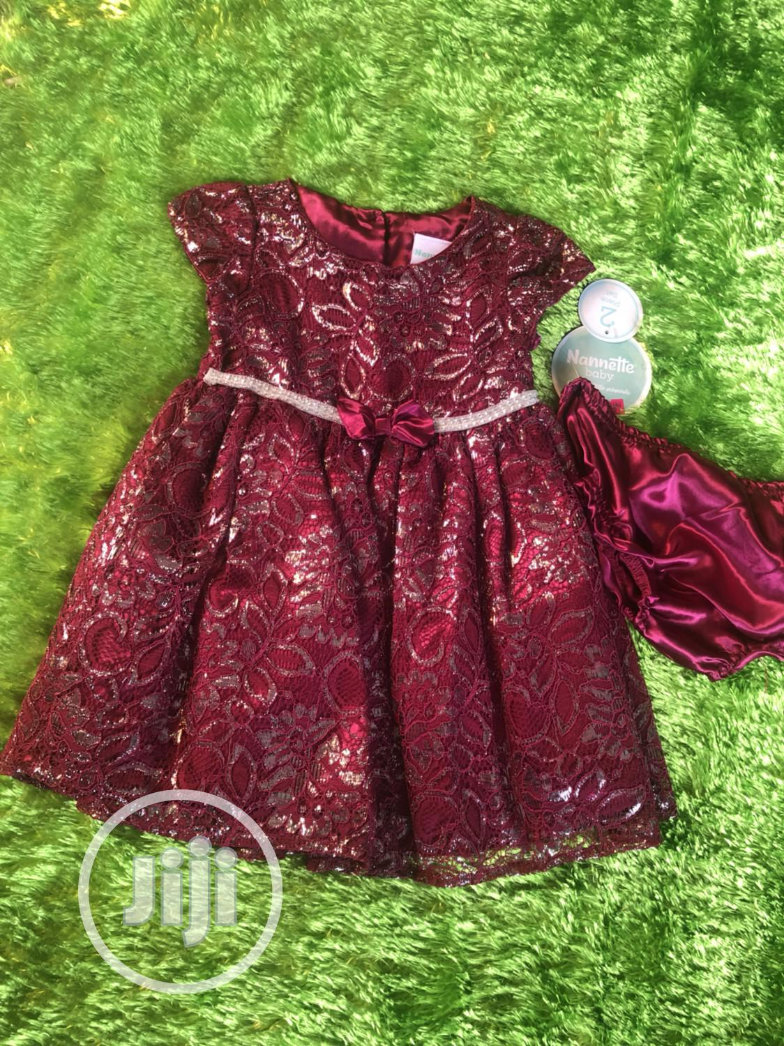 Nannette Baby Dress With Pant