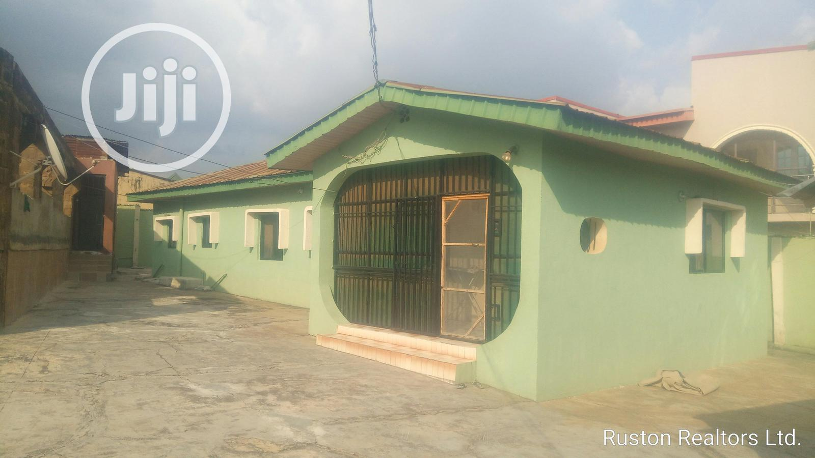 Uncompleted Building With Bungalow At Oluyole Estate