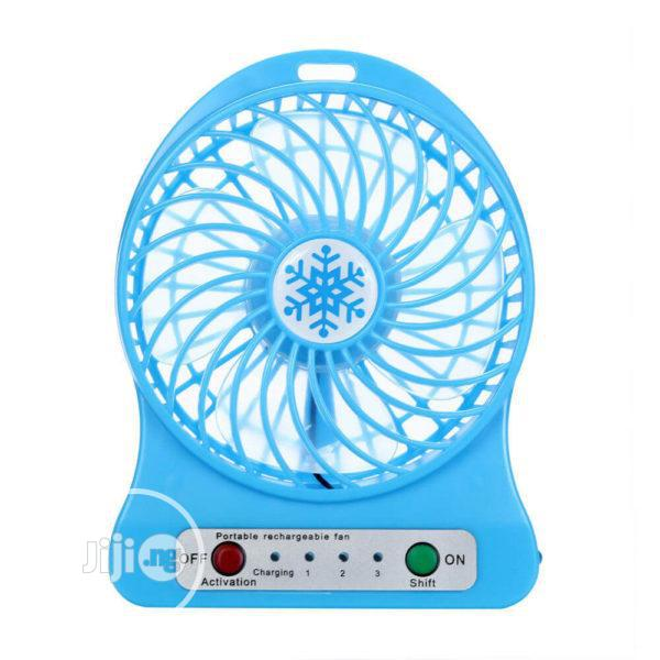 Mini Portable USB Rechargeable Handheld Fan For Corporate Asoebi Gifts   Home Appliances for sale in Ikeja, Lagos State, Nigeria