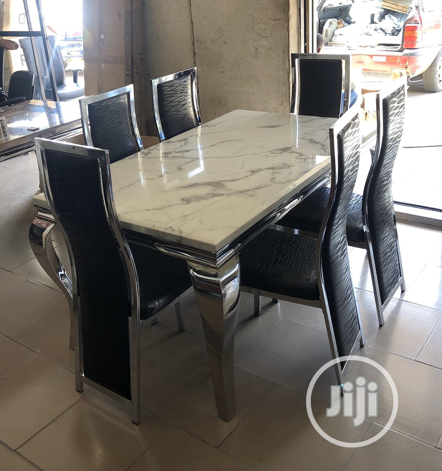 Archive Marble Dining Table In Apapa Furniture Valentine Obum Jiji Ng