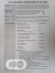 Regional Sales Manager | Management CVs for sale in Lagos State, Ikeja