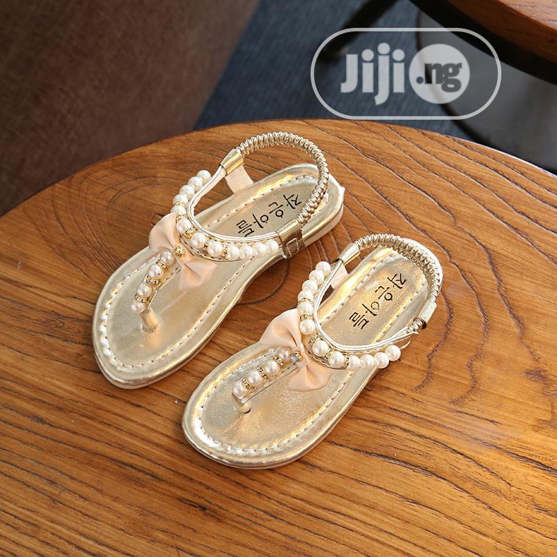 Fancy Girl Kids Baby Sandal in Akure