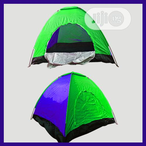 Safe Travelling W/ Durable Camp Tent