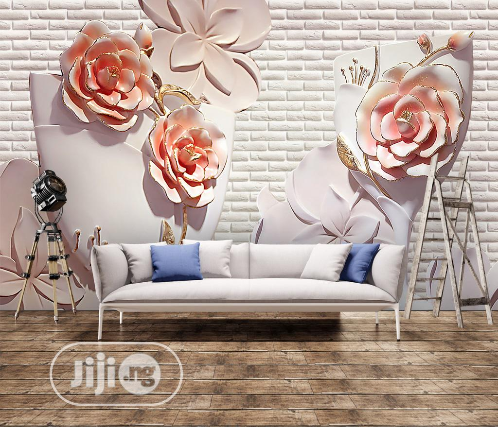 Buy 3D / 5D / 8D Photomural AKA Custom Wall Mural / Wallpaper | Building & Trades Services for sale in Yaba, Lagos State, Nigeria