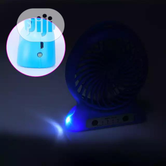 Rechargeable Portable Table Fan | Home Appliances for sale in Ikeja, Lagos State, Nigeria
