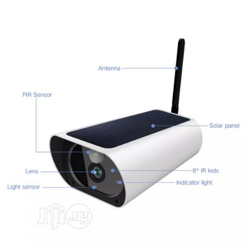 2MP Solar Wifi Camera With Built in Battery 4G SIM Enabled