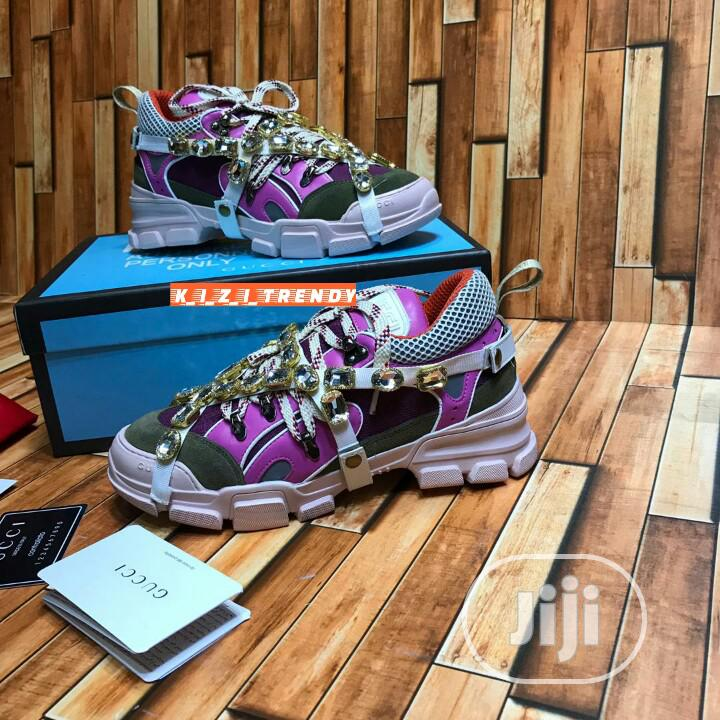 Gucci Flashtrek Sneakers | Shoes for sale in Surulere, Lagos State, Nigeria