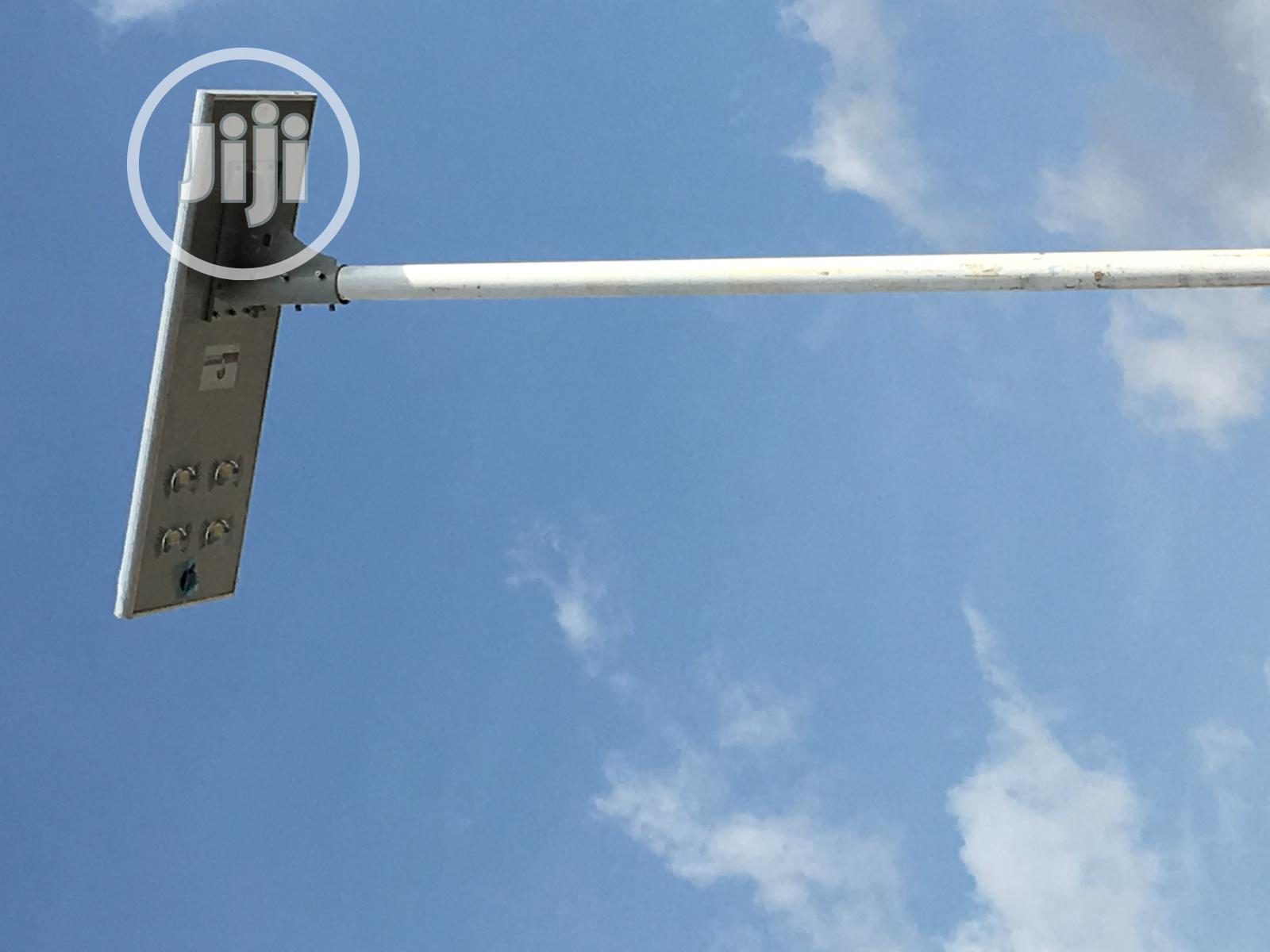 All In One Solar Street Light 60w With Pole And Installation | Solar Energy for sale in Central Business Dis, Abuja (FCT) State, Nigeria
