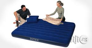 INTEX Queen Size Classic Airbed With Pump & Pillows (5x6) | Furniture for sale in Lagos State